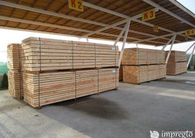 Висококачествен дървен материал на склад готов за импрегниране-01