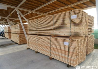 Висококачествен дървен материал на склад готов за импрегниране-02
