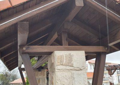 Покривна конструкция - навес