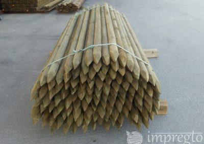 Импрегнирани дървени колове-3