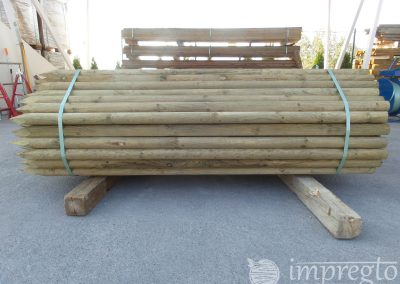 Импрегнирани дървени колове-4