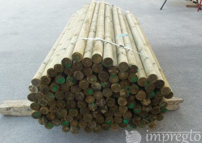 Импрегнирани дървени колове-6