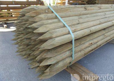 Импрегнирани дървени колове-8